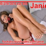 Dirty phone sex slut doll Janie